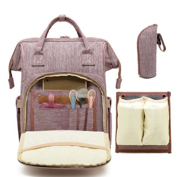 Fashion Diaper Bag Backpack Baby Travel Nappy Changing Bags for Mom Multifunction
