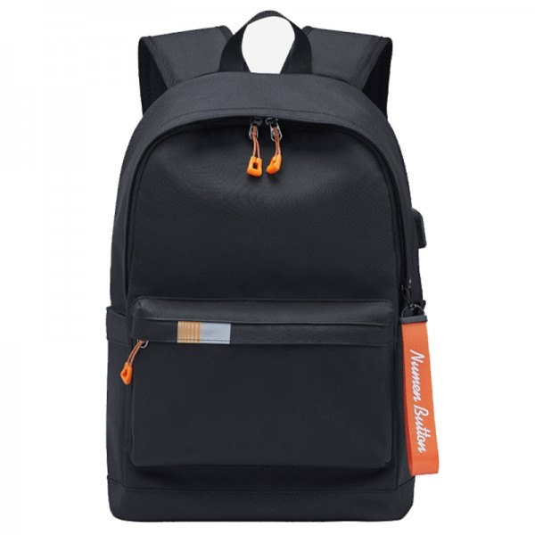 Lightweight Laptop Backpack for School Basic Water Resistant Casual Daypack for Teens Boy