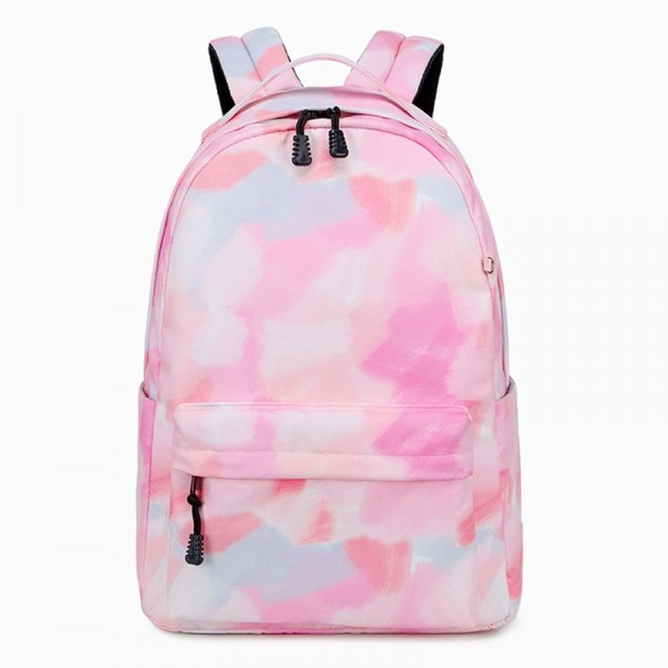 Pink Backpacks For Girls, Light Weight Middle/High School Backpack Daypack Durable Book Bag