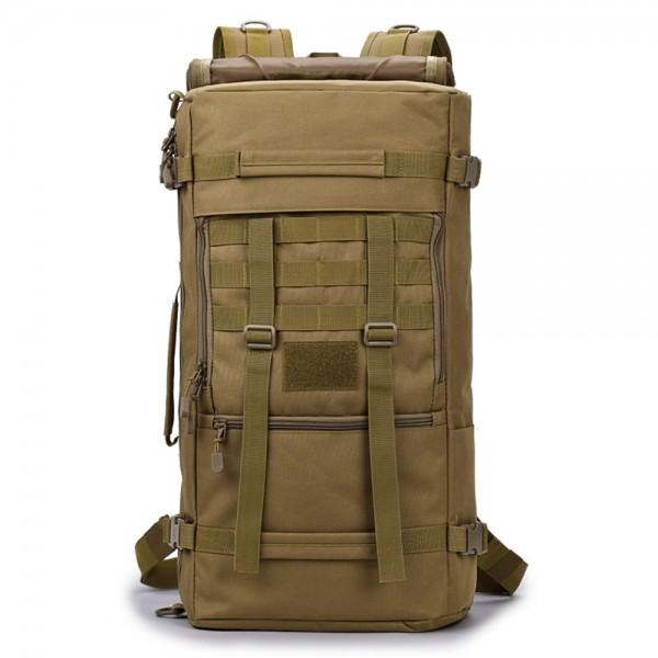 50L Military Camping Backpack for Men Tactical Large Capacity Outdoor Hiking Moutain Bag