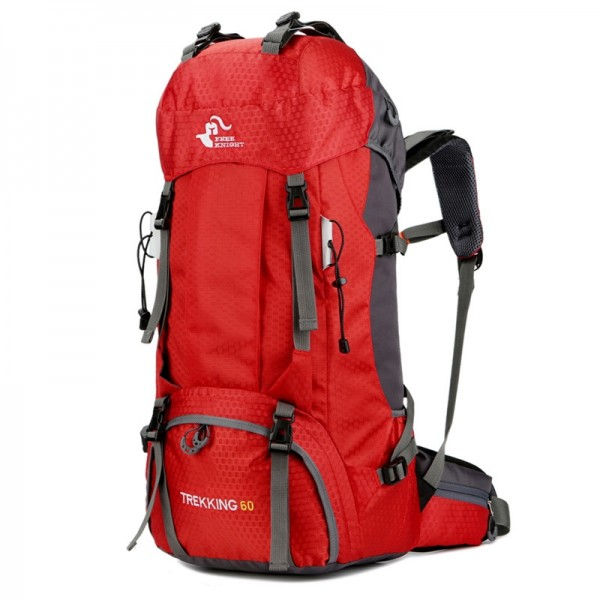 Men's 60L Waterproof Backpack for Outdoor Travel/Camping/Climbing with Rain Cover