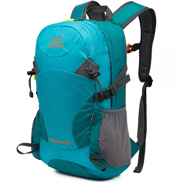 Nylon Waterproof 30L Outdoor Backpack Climbing Hiking Sport Bag Camping Mountaineering Backpack For Hiking