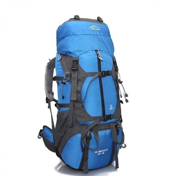 65L Outdoor Hiking Backpack Waterproof Sports Travel Camping Backpack Climbing Trekking Mountaineering Bag