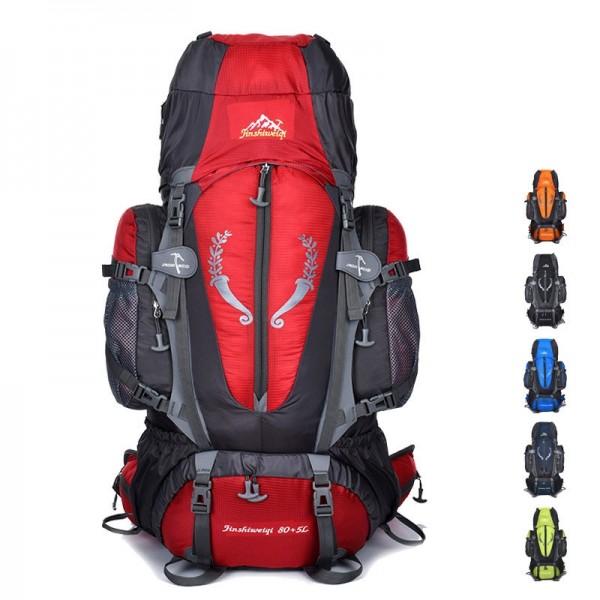 KKbags 85L Outdoor Hiking Travel Backpack Multi-purpose Camping Rucksack Top Level