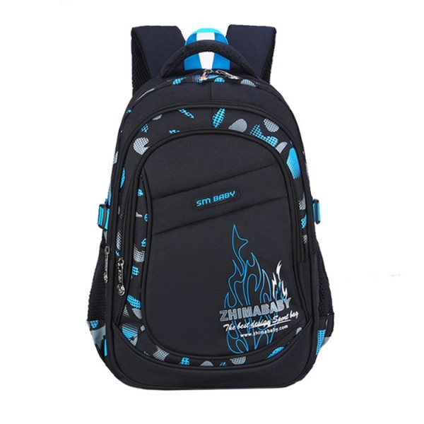 Teen Boys' Lightweight Large Capacity Waterproof Backpack for Primary School