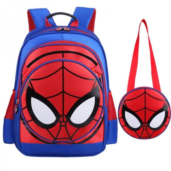 Kids' Affordable Lightweight Spider-man Design Backpack