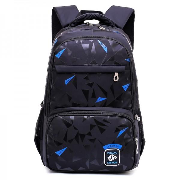 Boys' StylishGeometric Patterns Extra Large Backpack