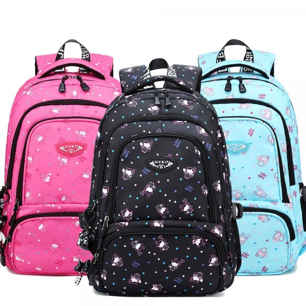 Middle School Backpack for Teens Cheap Schoolbag  Multipurpose Big Bookbag with Chest Strap