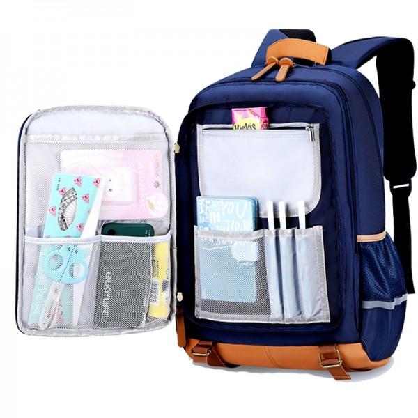 Large Capacity Boys Backpack for Elementary School Flip Hiking Bag Lightweight Travel Bag