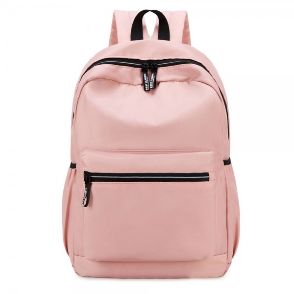 Pink Casual Backpack for Girls Cute School Mini Backpack Purse for College ZBP812084