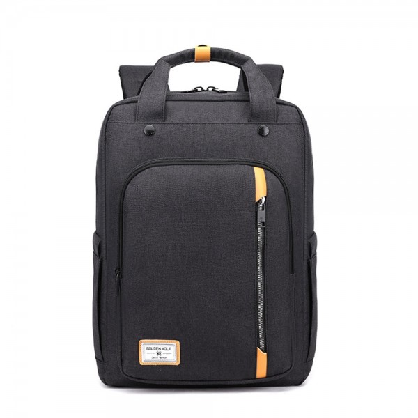 School Backpack with USB Charging Port Travel College Student Business Bookbag KKbags
