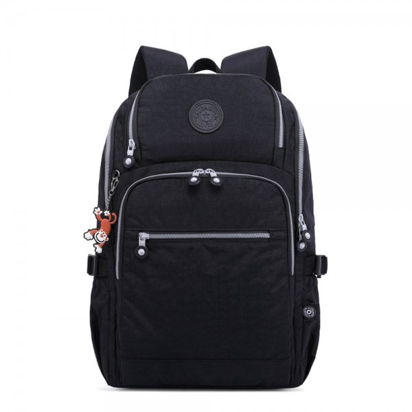 Big High Quality Backpack with USB Nylon Waterproof Lightweight Travel Bag for Teens