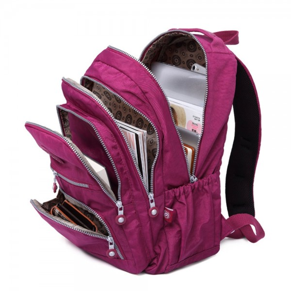 New Fashionable Big Travel Backpack with Laptop Compartment for Girls Top Level