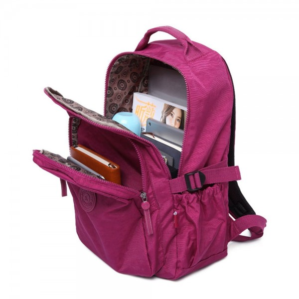 Casual College Backpack Girls Travel Outdoor Bag Fits 15