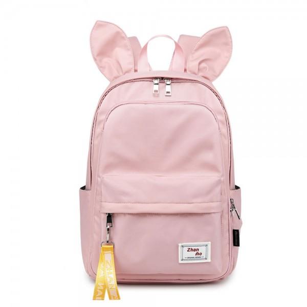 Cute Backpack for High School Girls Chic Lightweight Nylon Bookbag Travel Daypack